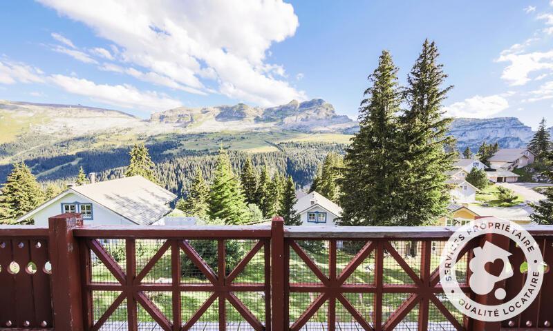 Location au ski Chalet 3 pièces cabine 8 personnes (Confort 70m²) - Les Chalets de Flaine Hameau - Maeva Particuliers - Flaine - Extérieur été