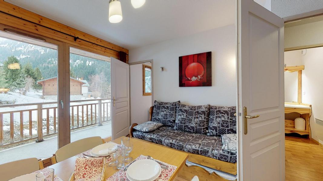 Urlaub in den Bergen 2-Zimmer-Appartment für 4 Personen - Les Chalets de Florence - Valfréjus - Wohnzimmer