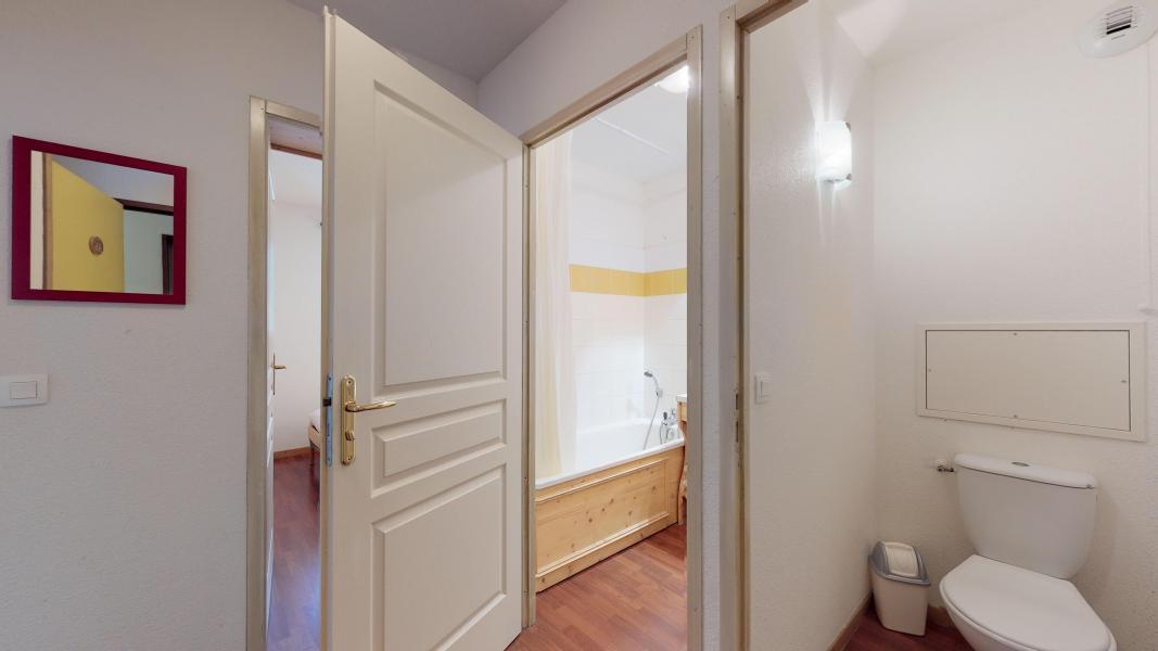 Urlaub in den Bergen 2-Zimmer-Holzhütte für 6 Personen - Les Chalets de Florence - Valfréjus - Badezimmer