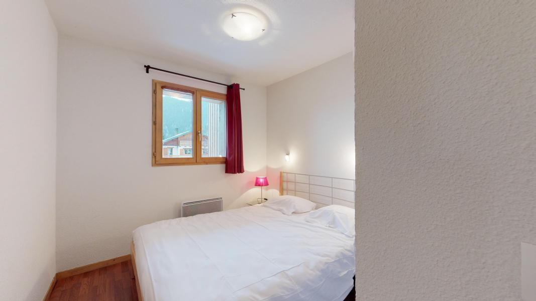 Urlaub in den Bergen 2-Zimmer-Holzhütte für 6 Personen - Les Chalets de Florence - Valfréjus - Doppelbett