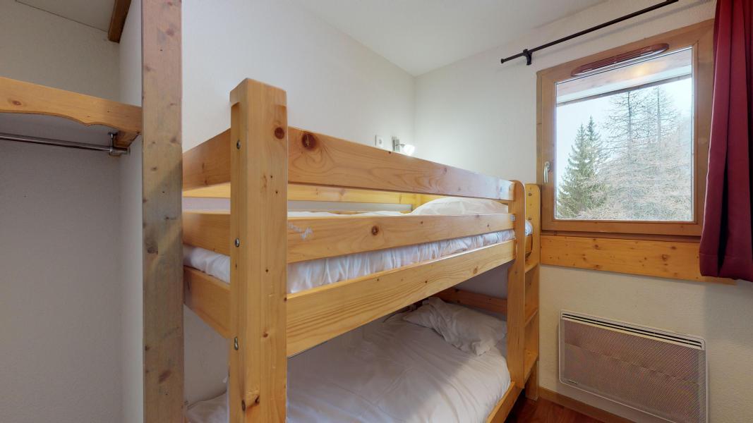 Vacaciones en montaña Apartamento 2 piezas cabina para 6 personas - Les Chalets de Florence - Valfréjus - Camas literas