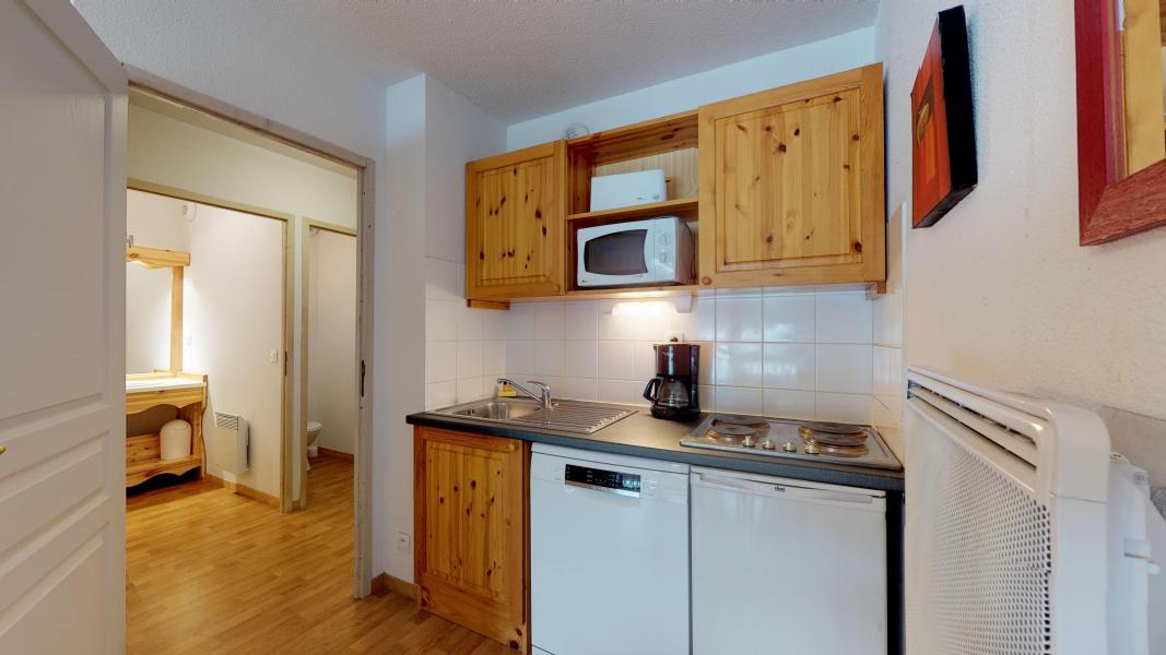Vacaciones en montaña Apartamento 2 piezas para 4 personas - Les Chalets de Florence - Valfréjus - Cocina