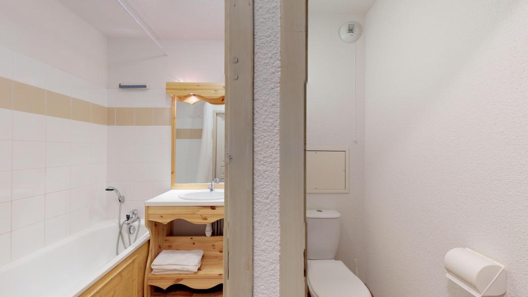 Vacaciones en montaña Apartamento cabina para 4 personas - Les Chalets de Florence - Valfréjus - Cuarto de baño