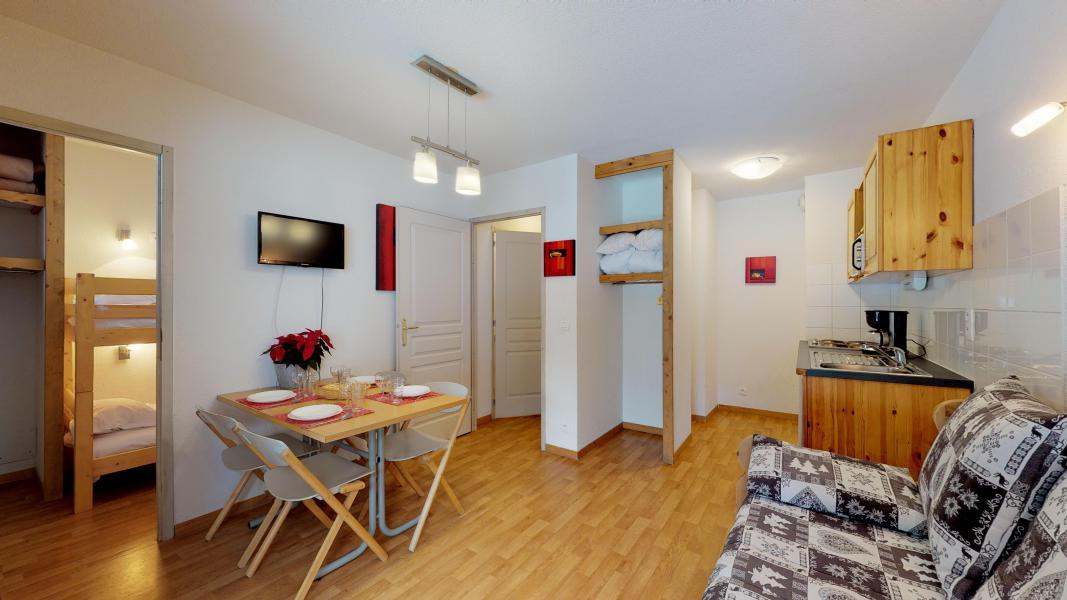 Vacaciones en montaña Apartamento cabina para 4 personas - Les Chalets de Florence - Valfréjus - Estancia