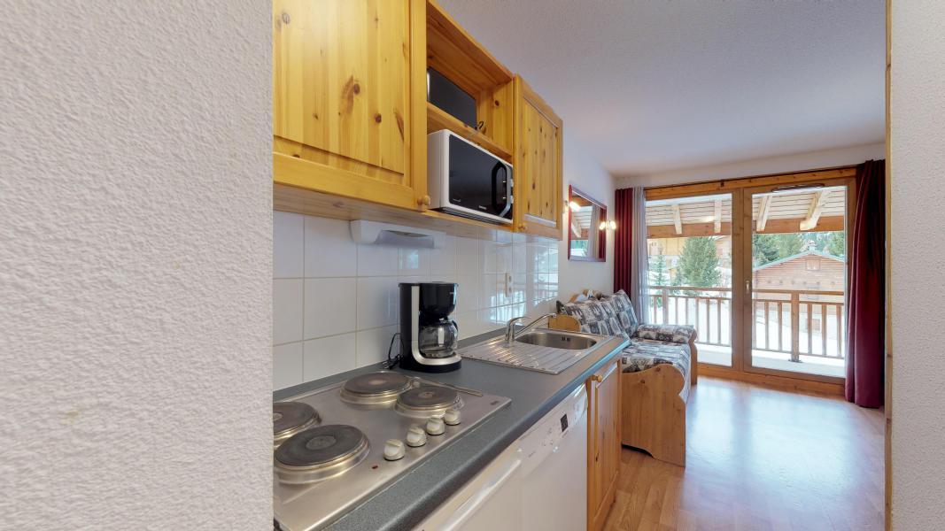 Urlaub in den Bergen Studio Kabine für 4 Personen - Les Chalets de Florence - Valfréjus - Küche