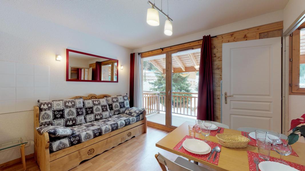 Urlaub in den Bergen Studio Kabine für 4 Personen - Les Chalets de Florence - Valfréjus - Wohnzimmer