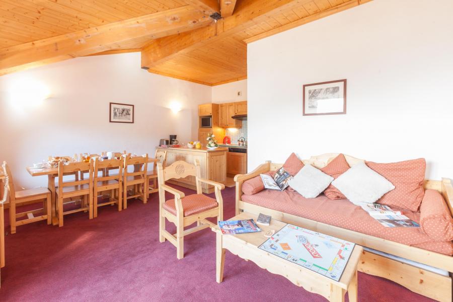 Vacances en montagne Les Chalets de l'Adonis - Les Menuires - Banquette-lit