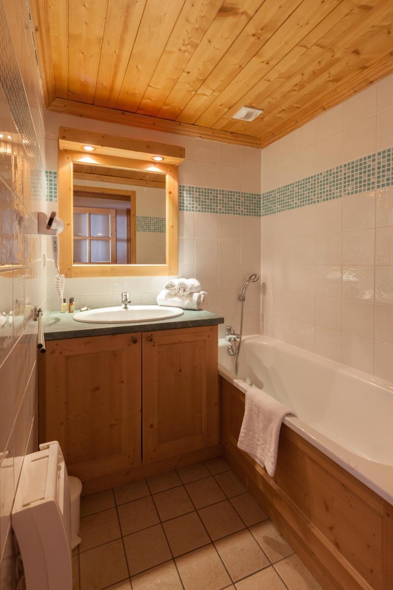 Vacanze in montagna Les Chalets de l'Adonis - Les Menuires - Vasca da bagno