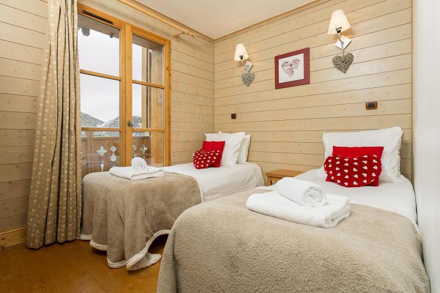 Vacaciones en montaña Les Chalets de l'Altiport - Alpe d'Huez - Cama individual