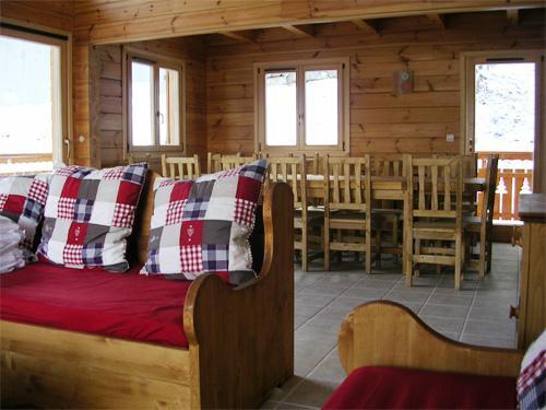 Vacances en montagne Chalet 7 pièces 14 personnes - Les Chalets de l'Eden - La Joue du Loup - Banquette-lit