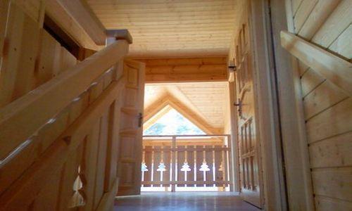 Vacances en montagne Chalet 7 pièces 14 personnes - Les Chalets de l'Eden - La Joue du Loup - Escalier