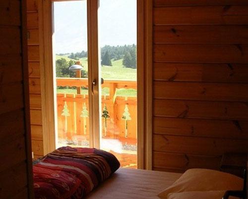 Vacances en montagne Chalet 7 pièces 14 personnes - Les Chalets de l'Eden - La Joue du Loup - Fenêtre