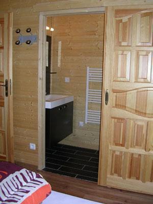 Vacances en montagne Chalet 7 pièces 14 personnes - Les Chalets de l'Eden - La Joue du Loup - Salle d'eau