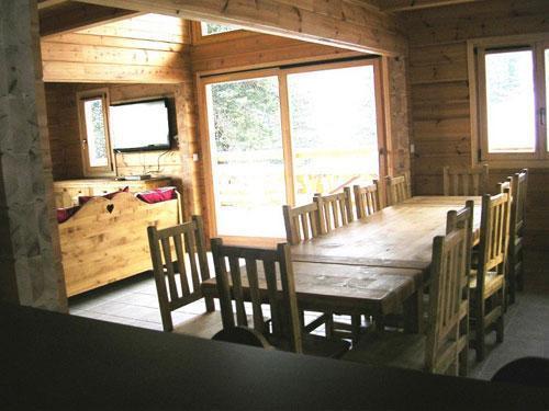 Vacances en montagne Chalet 7 pièces 14 personnes - Les Chalets de l'Eden - La Joue du Loup - Séjour
