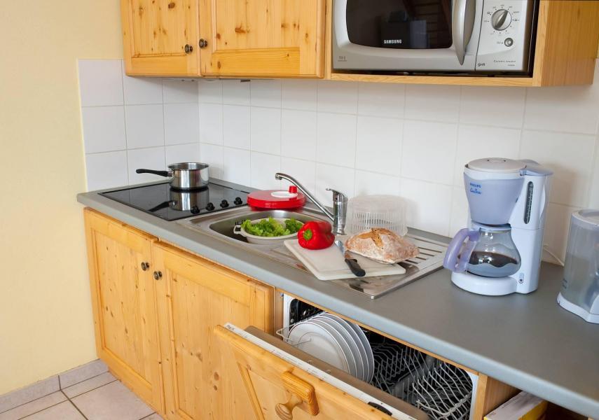 Holiday in mountain resort Les Chalets de la Fontaine - Saint Jean d'Arves - Kitchen