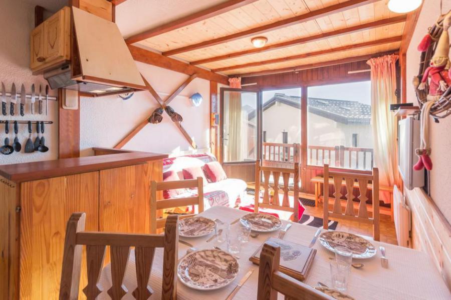 Vakantie in de bergen Studio cabine 6 personen (3E) - Les Chalets de la Rosière - La Rosière