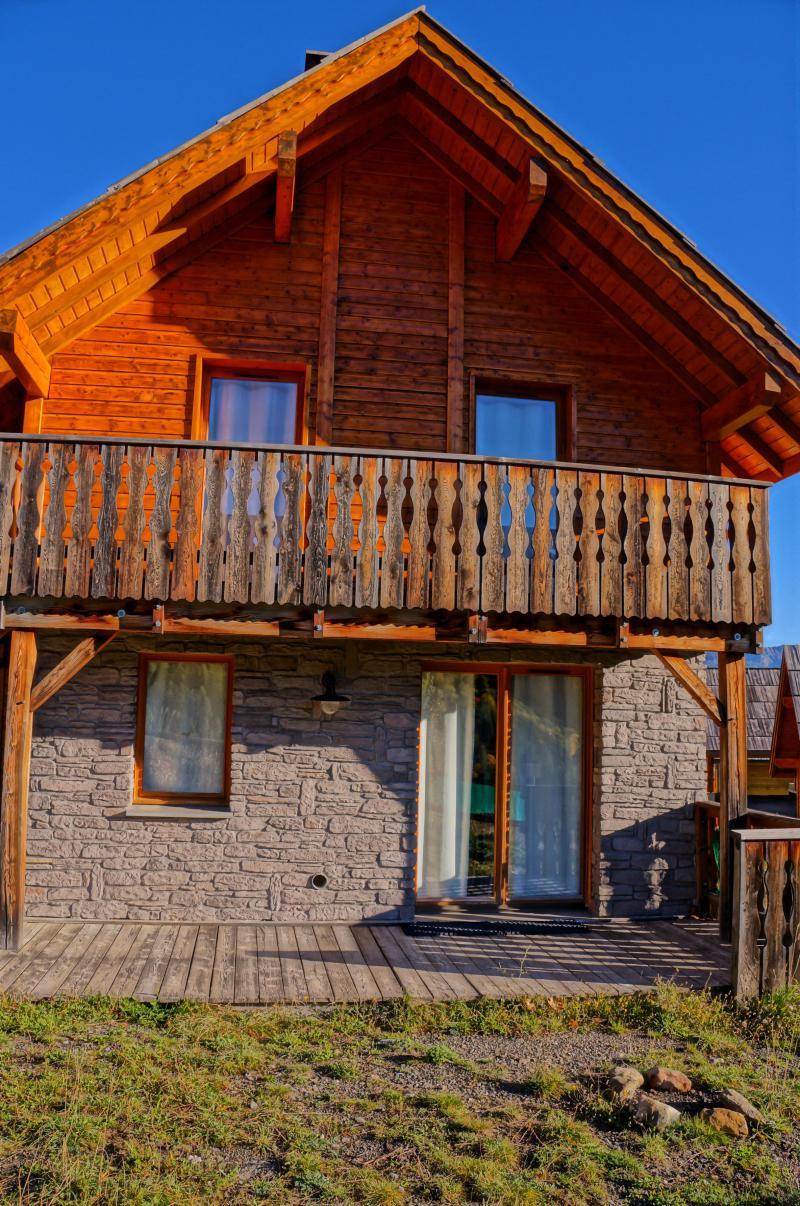 Location au ski Chalet semi-individuel 3 pièces 6 personnes - Les Chalets de Pra Loup 1500 - Pra Loup - Extérieur été