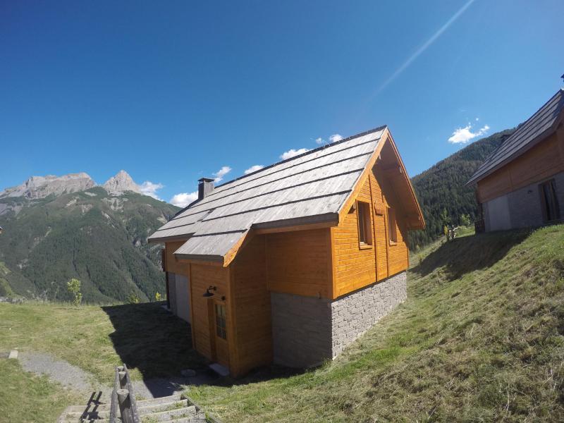 Location au ski Chalet 5 pièces 12 personnes - Les Chalets de Pra Loup 1500 - Pra Loup - Extérieur été