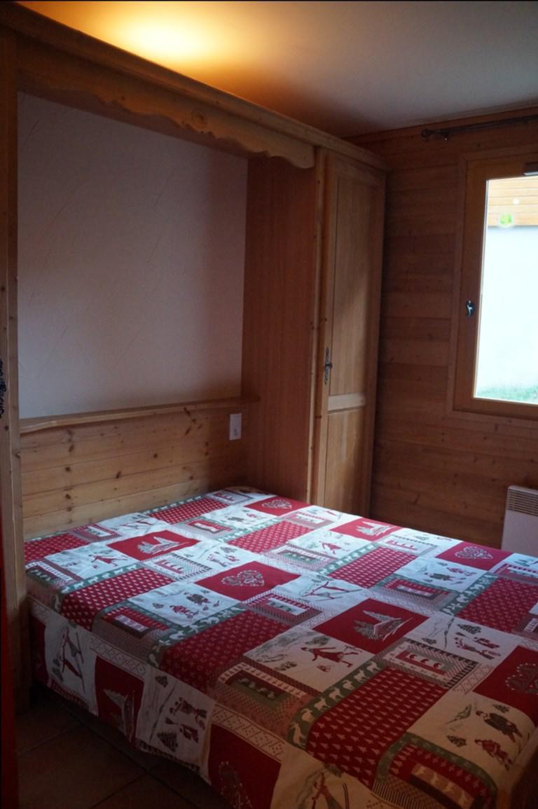 Holiday in mountain resort 3 room apartment sleeping corner 8 people (H1) - Les Chalets de Praroustan - Pra Loup - Bedroom