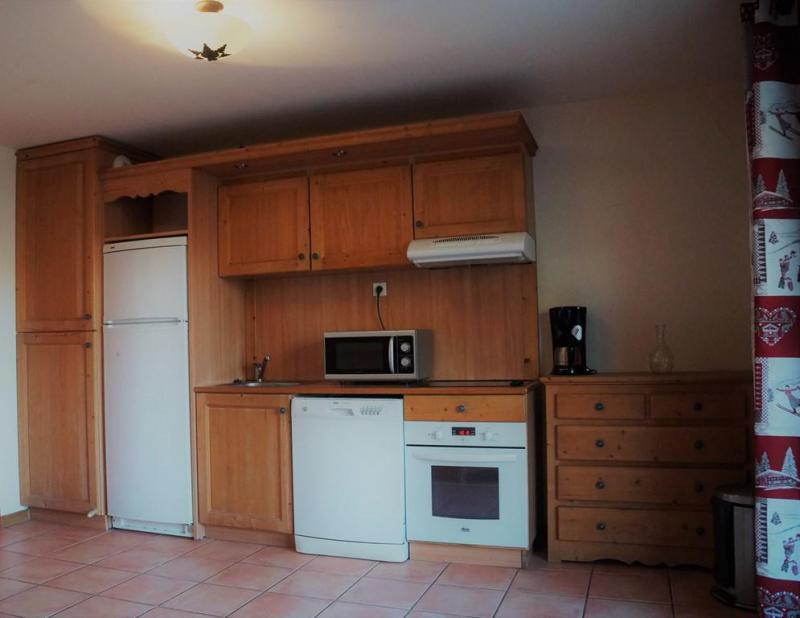 Holiday in mountain resort 3 room apartment sleeping corner 8 people (H1) - Les Chalets de Praroustan - Pra Loup - Kitchenette