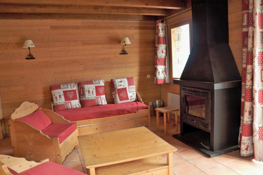 Holiday in mountain resort 4 room mezzanine chalet 10 people (12) - Les Chalets de Praroustan - Pra Loup - Living room