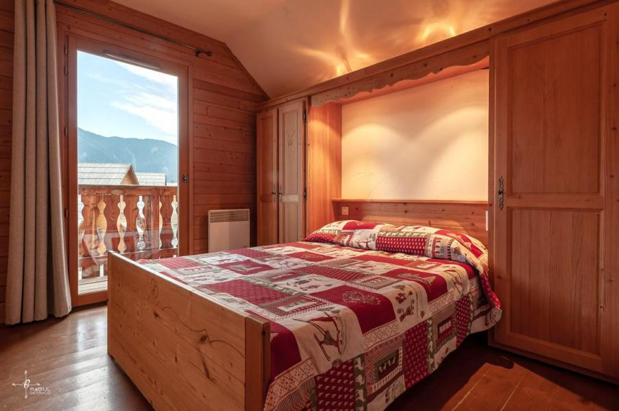 Holiday in mountain resort 4 room mezzanine chalet 10 people (14) - Les Chalets de Praroustan - Pra Loup - Bedroom