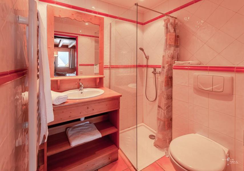 Holiday in mountain resort 4 room mezzanine chalet 10 people (14) - Les Chalets de Praroustan - Pra Loup - Shower