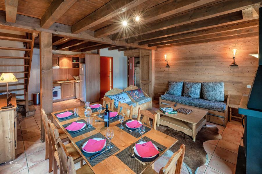 Holiday in mountain resort 4 room mezzanine chalet 10 people (14) - Les Chalets de Praroustan - Pra Loup - Table
