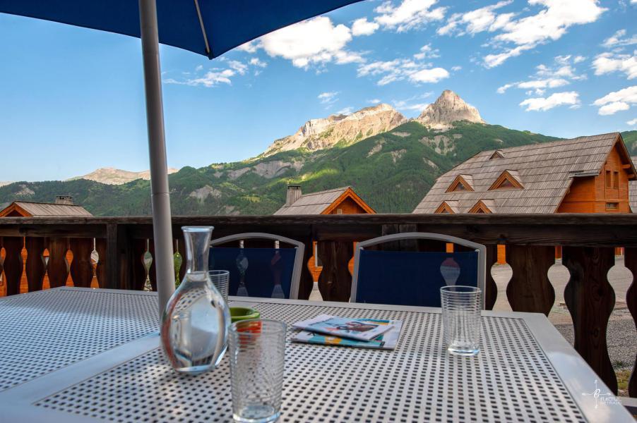 Vacances en montagne Chalet 4 pièces mezzanine 10 personnes (14) - Les Chalets de Praroustan - Pra Loup - Extérieur été