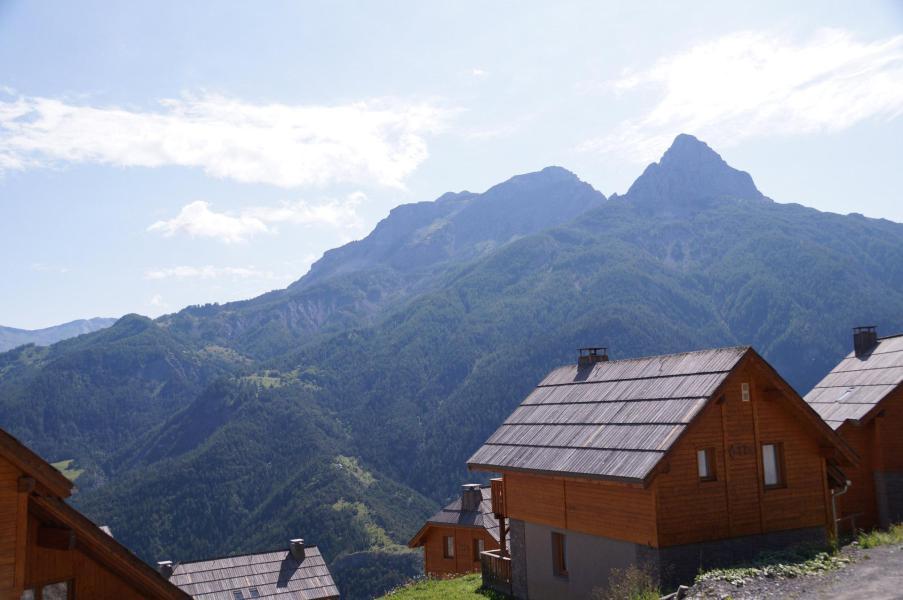 Vacances en montagne Appartement 3 pièces coin montagne 8 personnes (E03) - Les Chalets de Praroustan - Pra Loup - Extérieur été
