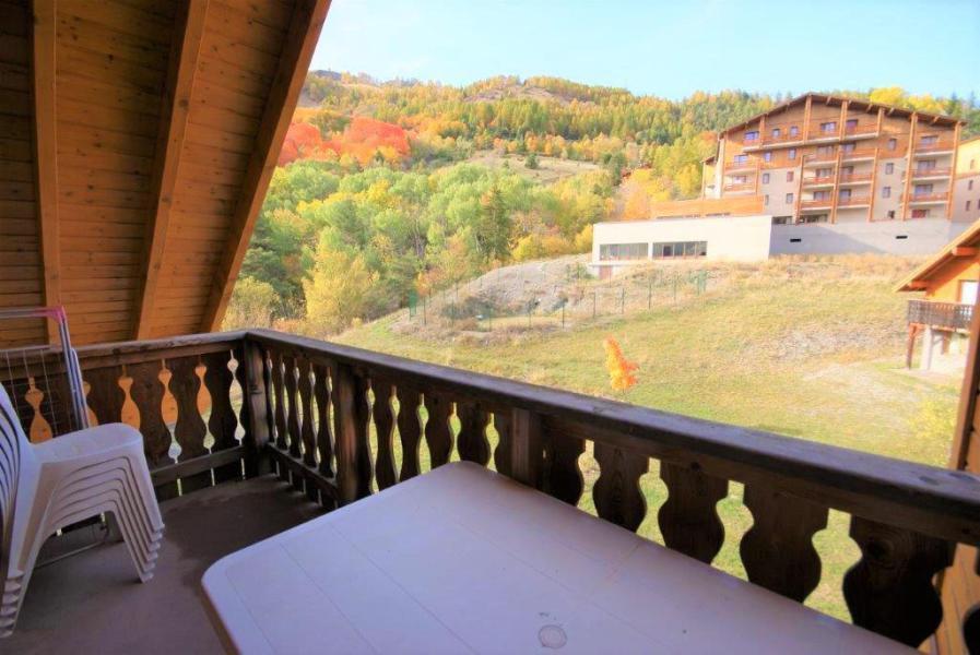 Vacances en montagne Appartement 3 pièces 6 personnes (C201) - Les Chalets de Praroustan - Pra Loup - Extérieur été
