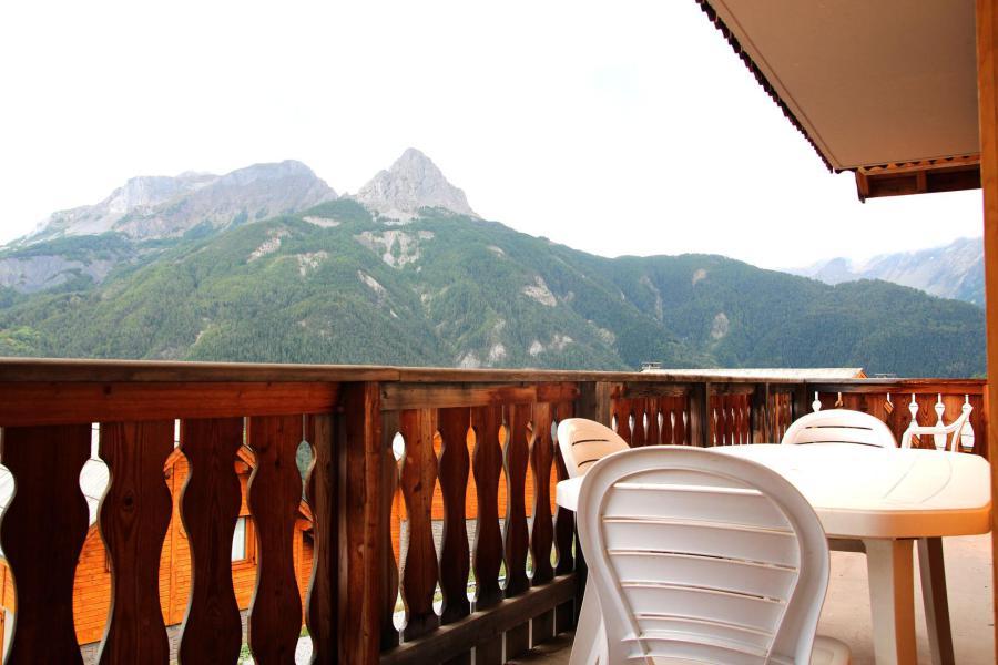 Vacances en montagne Appartement 2 pièces coin montagne 6 personnes (E102) - Les Chalets de Praroustan - Pra Loup - Extérieur été