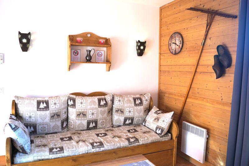 Vacances en montagne Appartement 2 pièces coin montagne 6 personnes (A103) - Les Chalets de Praroustan - Pra Loup - Séjour