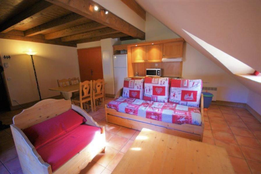 Vacances en montagne Appartement 3 pièces 6 personnes (C201) - Les Chalets de Praroustan - Pra Loup - Séjour
