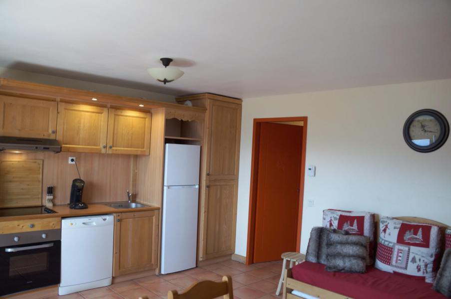 Vacances en montagne Appartement 3 pièces coin montagne 8 personnes (E03) - Les Chalets de Praroustan - Pra Loup - Kitchenette