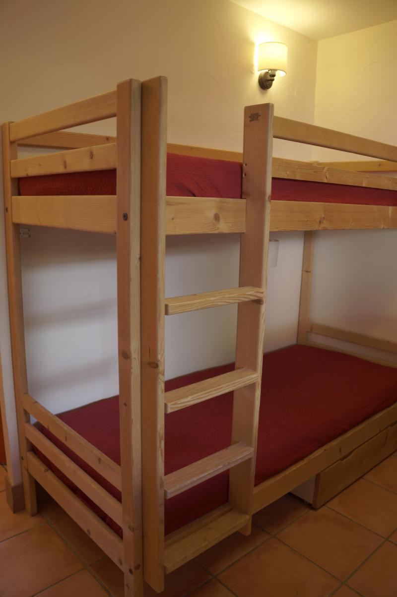 Vacances en montagne Appartement 3 pièces coin montagne 8 personnes (E03) - Les Chalets de Praroustan - Pra Loup - Lits superposés