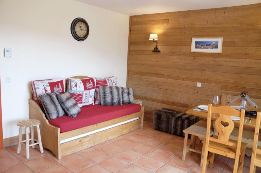 Vacances en montagne Appartement 3 pièces coin montagne 8 personnes (E03) - Les Chalets de Praroustan - Pra Loup - Séjour