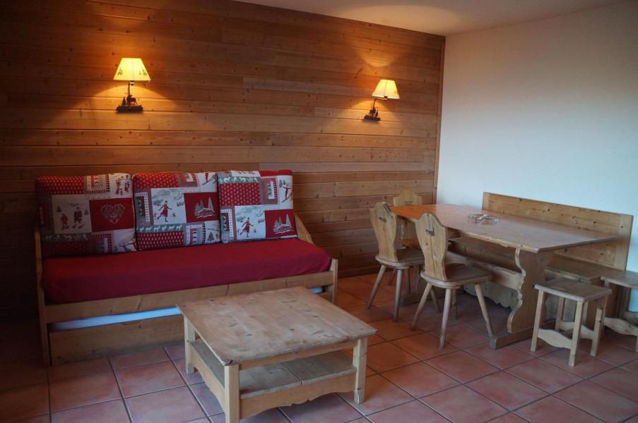 Vacances en montagne Appartement 3 pièces coin montagne 8 personnes (H1) - Les Chalets de Praroustan - Pra Loup - Séjour