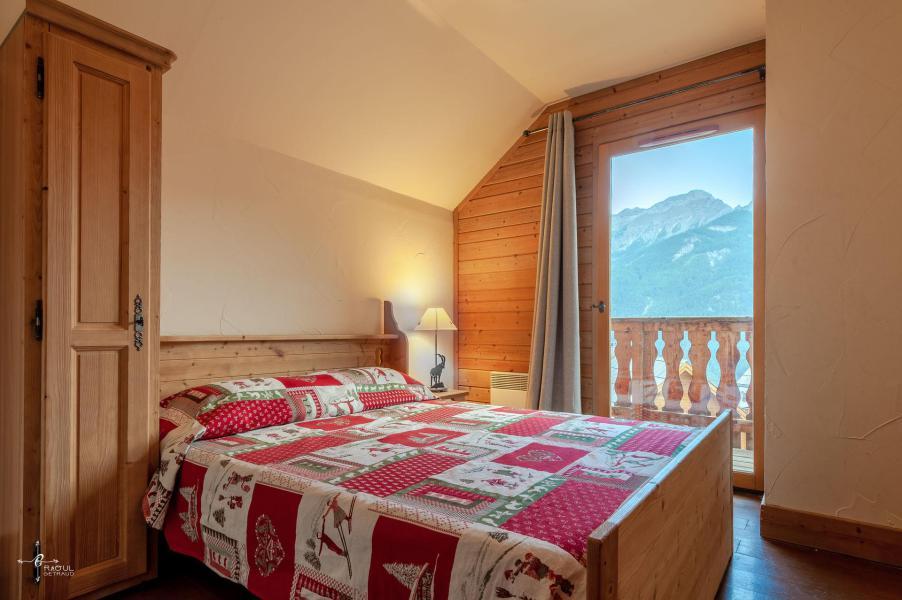 Vacances en montagne Chalet 4 pièces mezzanine 10 personnes (14) - Les Chalets de Praroustan - Pra Loup - Chambre