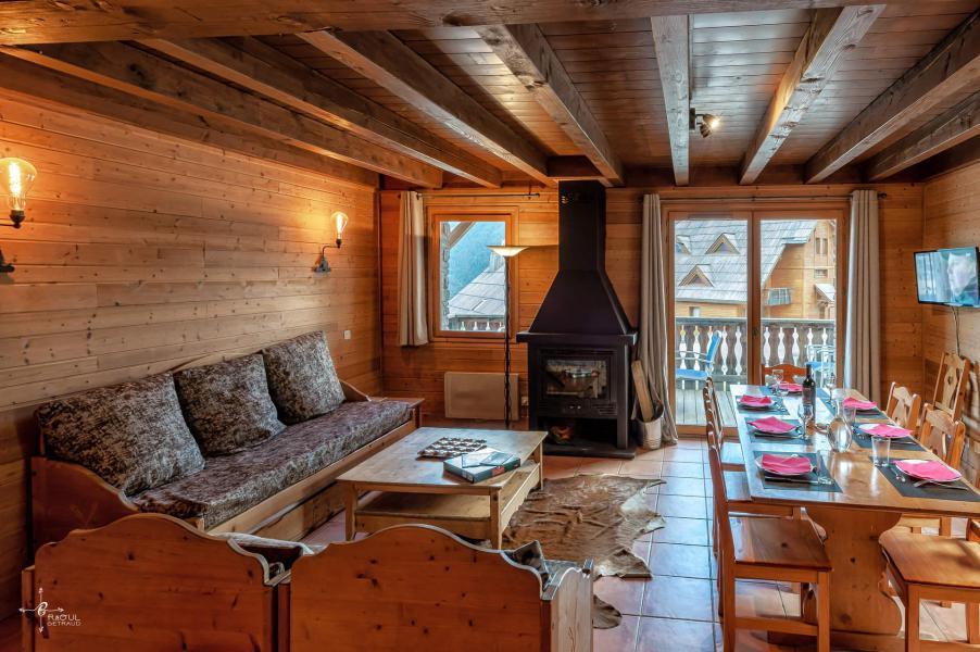 Vacances en montagne Chalet 4 pièces mezzanine 10 personnes (14) - Les Chalets de Praroustan - Pra Loup - Séjour