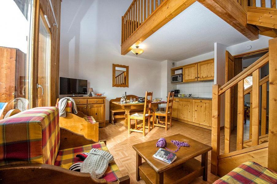 Vacaciones en montaña Les Chalets de Saint Sorlin - Saint Sorlin d'Arves - Cocina abierta