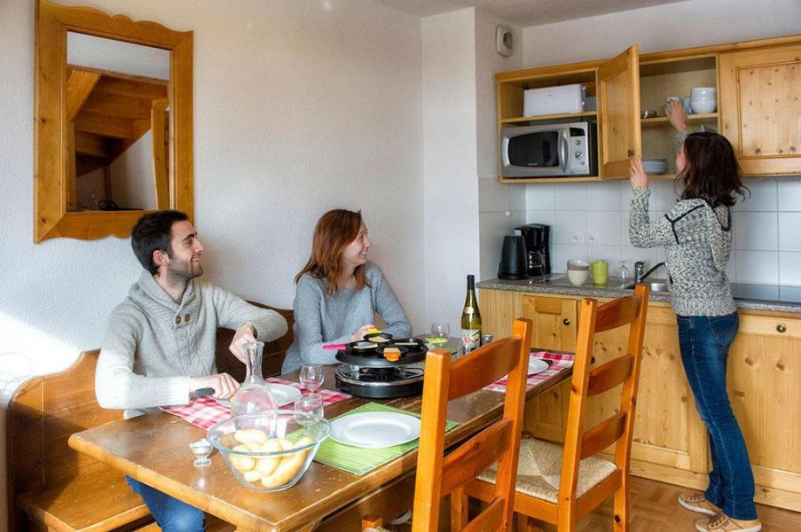 Vacances en montagne Les Chalets de Saint Sorlin - Saint Sorlin d'Arves - Coin repas