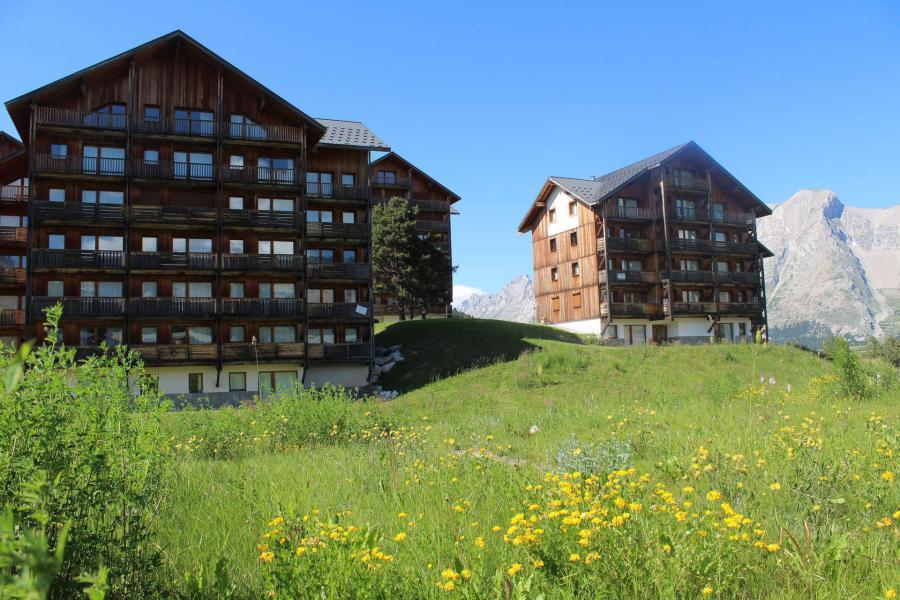 Vacaciones en montaña Les Chalets de SuperD Ancolie - Superdévoluy - Verano