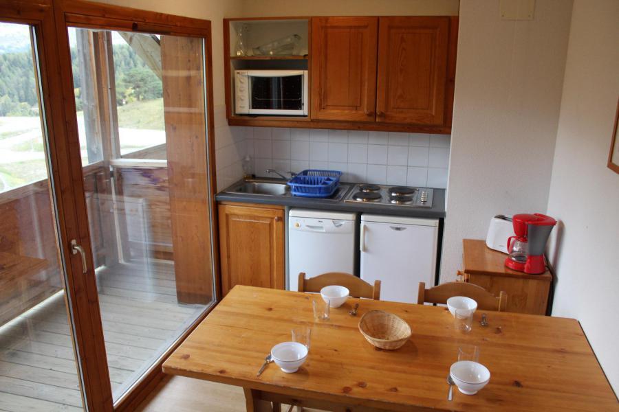 Vacaciones en montaña Apartamento cabina 2 piezas para 6 personas (BL14) - Les Chalets de SuperD Bleuet - Superdévoluy