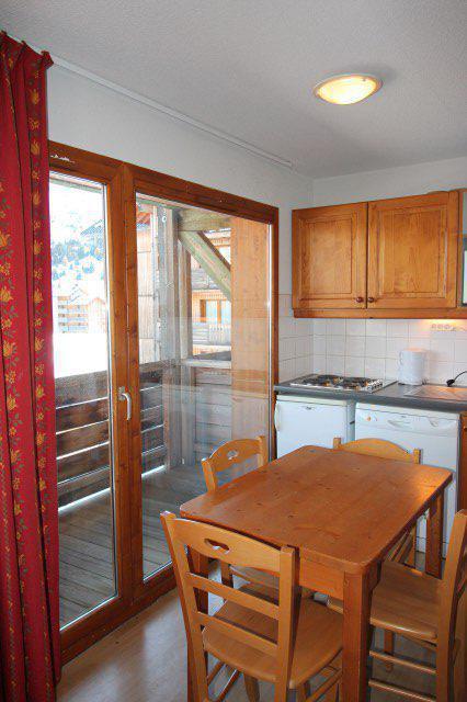Vacaciones en montaña Apartamento 3 piezas cabina para 4 personas (BL33) - Les Chalets de SuperD Bleuet - Superdévoluy - Mesa