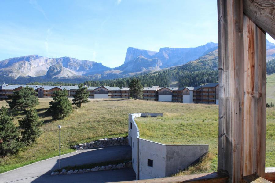 Vacaciones en montaña Apartamento cabina 3 piezas para 4 personas (CB13) - Les Chalets de SuperD Chardon Bleu - Superdévoluy - Verano
