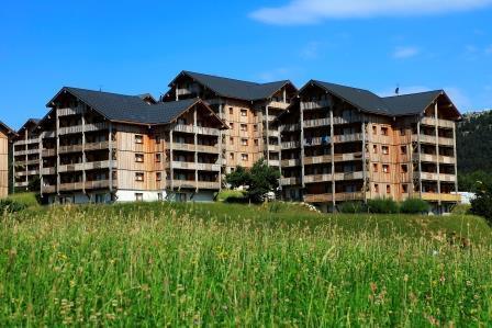 Vacaciones en montaña Apartamento cabina 2 piezas para 6 personas (EG33) - Les Chalets de SuperD Eglantier - Superdévoluy - Verano