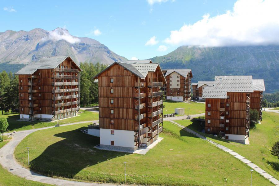 Vacaciones en montaña Les Chalets de SuperD Eglantier - Superdévoluy - Verano