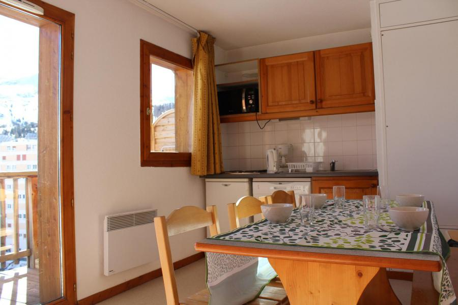 Vacaciones en montaña Apartamento cabina 1 piezas para 6 personas (EG61) - Les Chalets de SuperD Eglantier - Superdévoluy