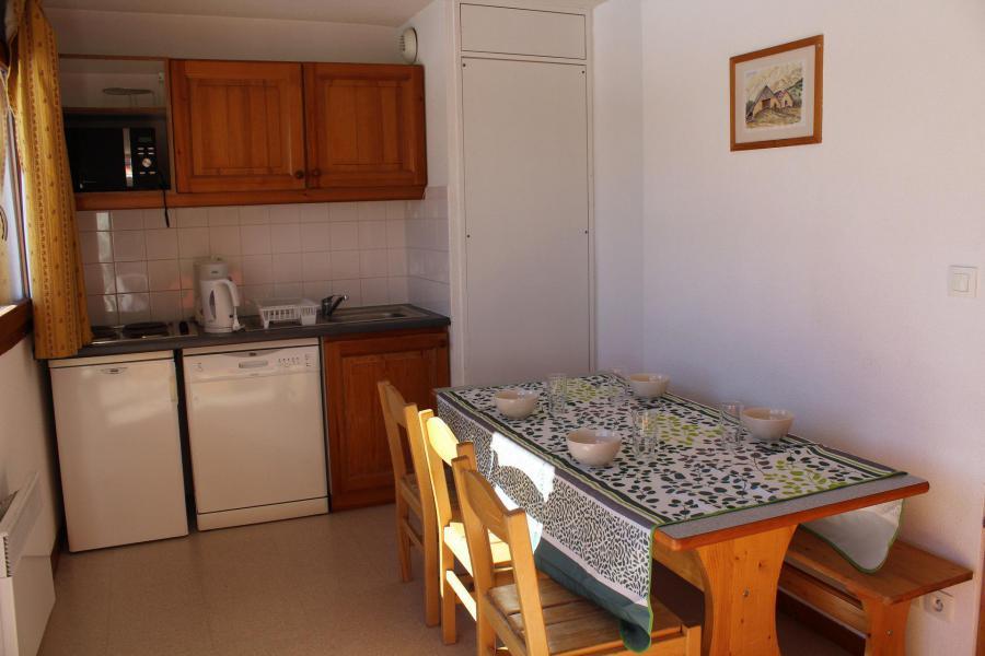 Wakacje w górach Apartament 1 pokojowy z alkową 6 osób (EG61) - Les Chalets de SuperD Eglantier - Superdévoluy - Aneks kuchenny